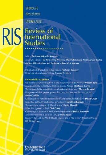 Evaluating Global Orders - International Affairs 36 (Paperback)