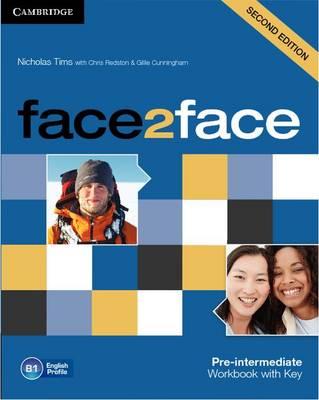 face2face Pre-intermediate Workbook with Key (Paperback)