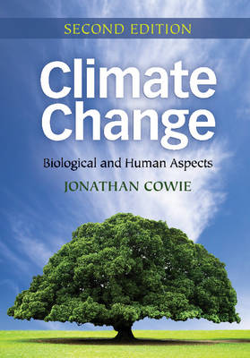 Climate Change: Biological and Human Aspects (Paperback)