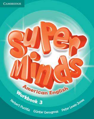 Super Minds American English Level 3 Workbook (Paperback)