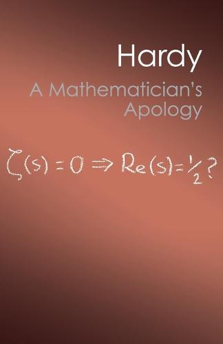 A Mathematician's Apology - Canto Classics (Paperback)