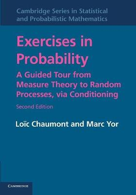 Cambridge Series in Statistical and Probabilistic Mathematics: Exercises in Probability: A Guided Tour from Measure Theory to Random Processes, via Conditioning Series Number 35 (Paperback)