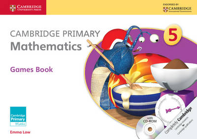 Cambridge Primary Mathematics Stage 5 Games book with CD-ROM - Cambridge Primary Maths