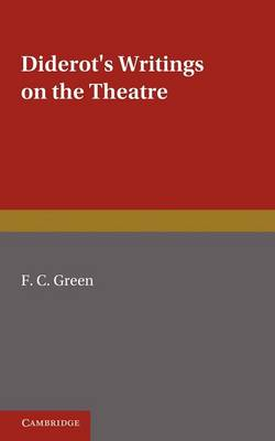 Diderot's Writings on the Theatre (Paperback)