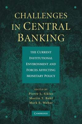Challenges in Central Banking: The Current Institutional Environment and Forces Affecting Monetary Policy (Paperback)