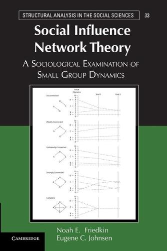 Social Influence Network Theory: A Sociological Examination of Small Group Dynamics - Structural Analysis in the Social Sciences 33 (Paperback)