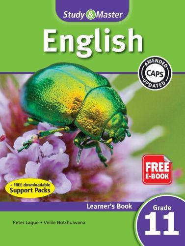 Study & Master English FAL Learner's Book Grade 11 - CAPS English (Paperback)