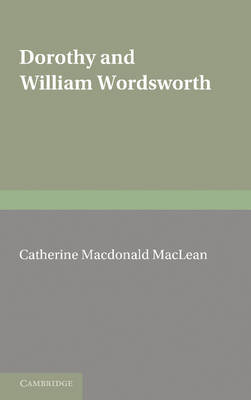 Dorothy and William Wordsworth (Paperback)