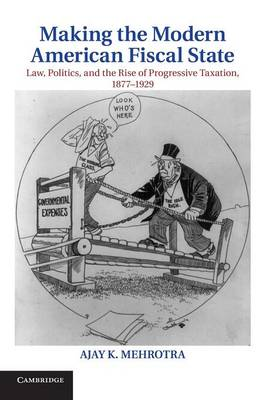 Cambridge Historical Studies in American Law and Society: Making the Modern American Fiscal State: Law, Politics, and the Rise of Progressive Taxation, 1877-1929 (Paperback)