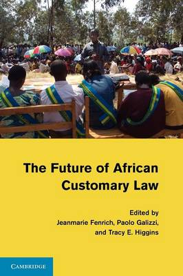 The Future of African Customary Law (Paperback)