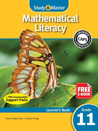 Study & Master Mathematical Literacy Learner's Book Grade 11 - CAPS Mathematical Literacy (Paperback)