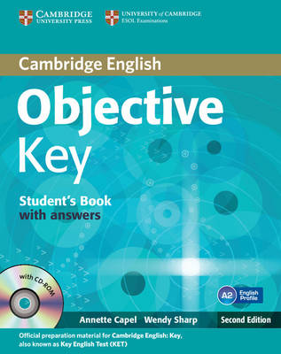 Objective Key Student's Book with Answers with CD-ROM - Objective