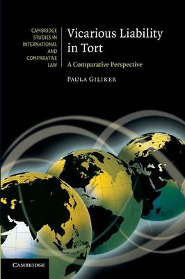 Vicarious Liability in Tort: A Comparative Perspective - Cambridge Studies in International and Comparative Law 69 (Paperback)