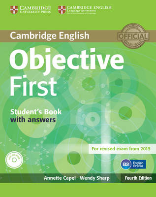 Objective First Student's Book with Answers with CD-ROM - Objective