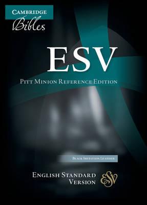 ESV Pitt Minion Reference Edition ES442:X Black Imitation Leather (Leather / fine binding)