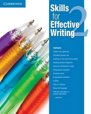 Skills for Effective Writing Level 2 Student's Book plus Academic Encounters Level 2 Student's Book