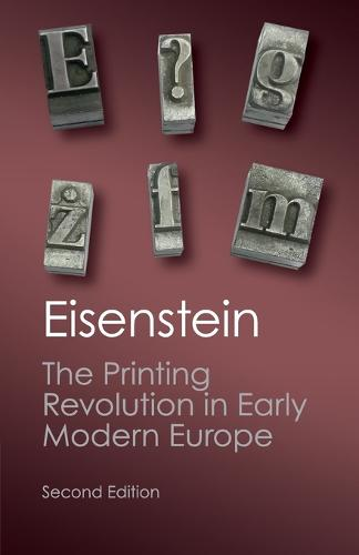 The Printing Revolution in Early Modern Europe - Canto Classics (Paperback)