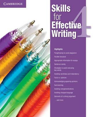 Skills for Effective Writing Level 4 Student's Book plus Academic Encounters Level 4 Student's Book