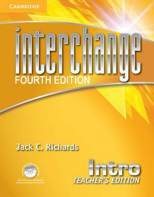 Interchange Intro Teacher's Edition with Assessment Audio CD/CD-ROM - Interchange Fourth Edition