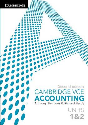 Cambridge VCE Accounting Units 1 and 2 (Paperback)