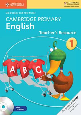 Cambridge Primary English Stage 1 Teacher's Resource Book with CD-ROM - Cambridge Primary English