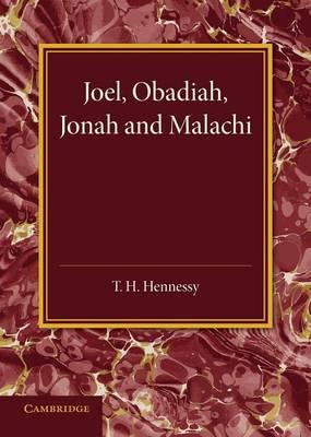 Joel, Obadiah, Jonah and Malachi (Paperback)