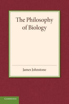 The Philosophy of Biology (Paperback)