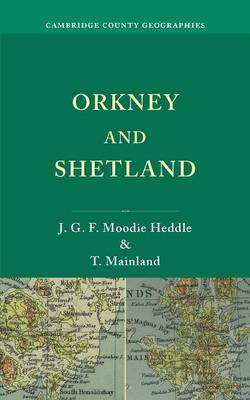 Orkney and Shetland - Cambridge County Geographies (Paperback)