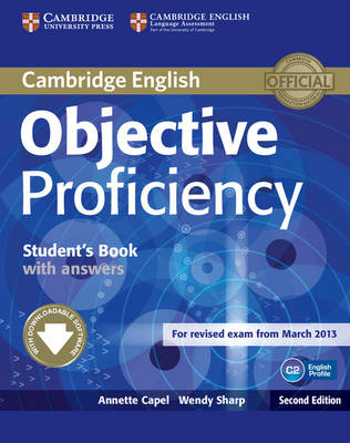 Objective Proficiency Student's Book with Answers with Downloadable Software - Objective