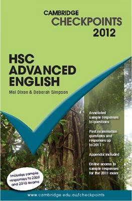 Cambridge Checkpoints HSC Advanced English 2012 - Cambridge Checkpoints (Paperback)