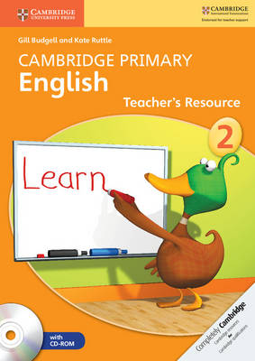 Cambridge Primary English: Cambridge Primary English Stage 2 Teacher's Resource Book with CD-ROM