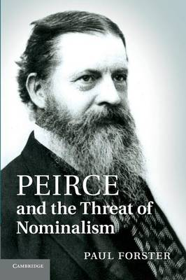Peirce and the Threat of Nominalism (Paperback)