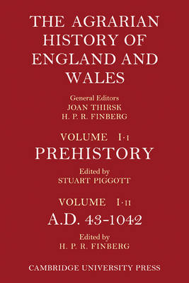 The Agrarian History of England and Wales 8 Volume Set in 12 Paperback Parts - Agrarian History of England and Wales