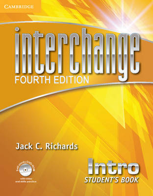 Interchange Intro Student's Book with Self-study DVD-ROM - Interchange Fourth Edition