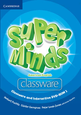Super Minds American English Level 1 Classware and Interactive DVD-ROM