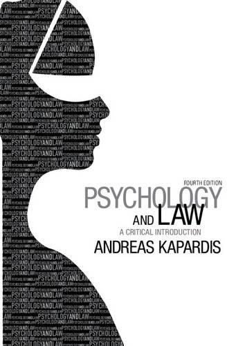 Psychology and Law: A Critical Introduction (Paperback)
