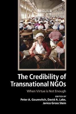 The Credibility of Transnational NGOs: When Virtue is Not Enough (Paperback)