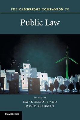 Cambridge Companions to Law: The Cambridge Companion to Public Law (Paperback)