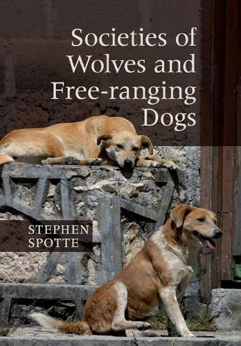 Societies of Wolves and Free-ranging Dogs (Paperback)