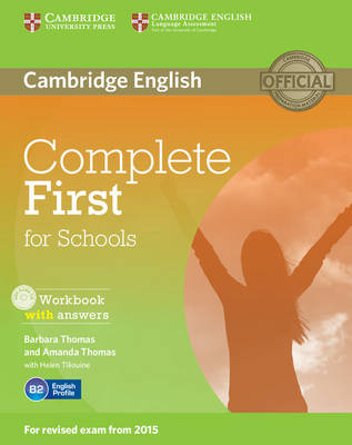 Complete First for Schools Workbook with Answers with Audio CD - Complete