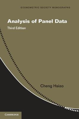 Analysis of Panel Data - Econometric Society Monographs 54 (Paperback)