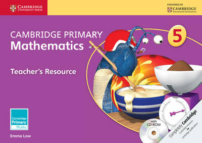 Cambridge Primary Maths: Cambridge Primary Mathematics Stage 5 Teacher's Resource with CD-ROM