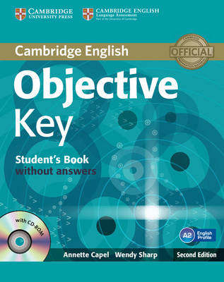 Objective Key Student's Book without Answers with CD-ROM - Objective