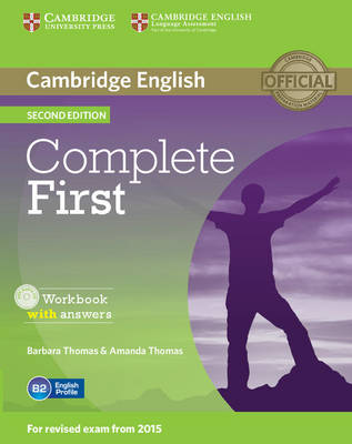 Complete First Workbook with Answers with Audio CD - Complete