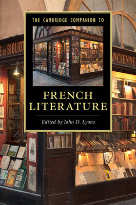Cambridge Companions to Literature: The Cambridge Companion to French Literature (Paperback)
