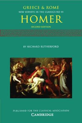 Homer - New Surveys in the Classics 41 (Paperback)
