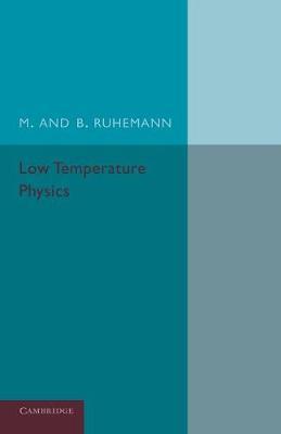 Low Temperature Physics (Paperback)