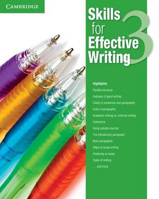 Skills for Effective Writing Level 3 Student's Book plus Academic Encounters Student's Book