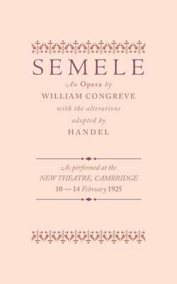 Semele: An Opera (Paperback)