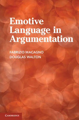 Emotive Language in Argumentation (Paperback)